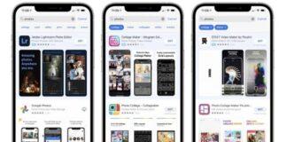 suggestions recherche app store
