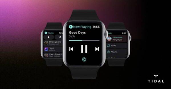 Tidal, Apple Watch