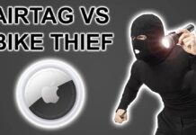 airtag vs voleur velo