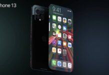 concept iphone 13 borderless a21