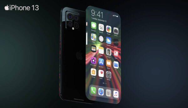 concept iphone 13 borderless a21