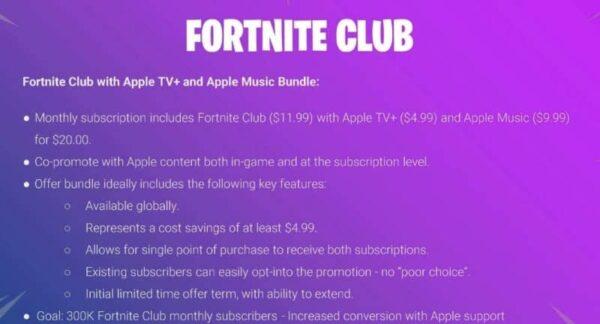fortnite club apple 2