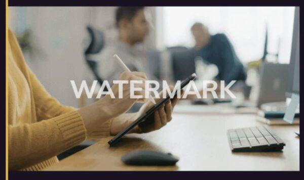 filigrane, watermark, HitPaw