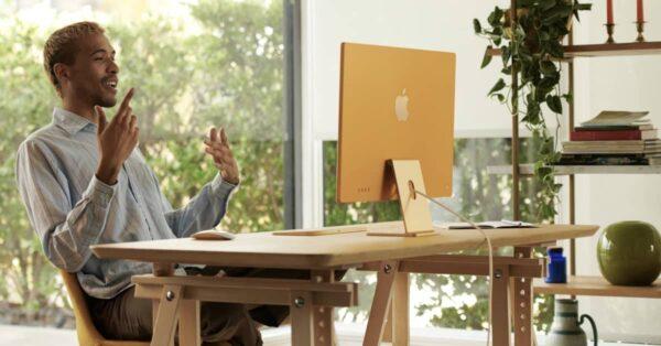 imac m1 pc tout en un apple