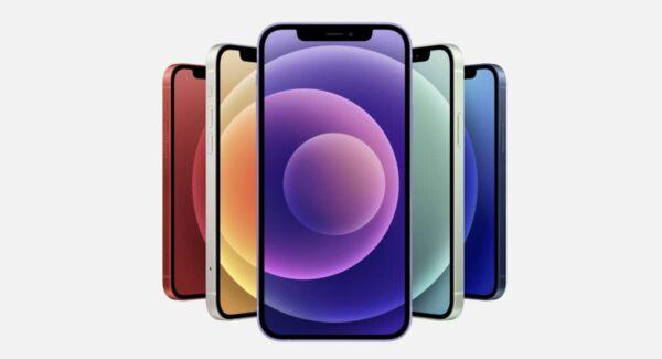 iPhone 12 mauve, numéros de série aléatoires