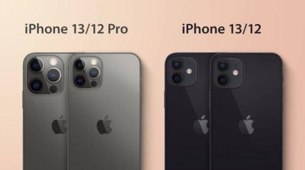 iPhone 13, iPhone 12 mini