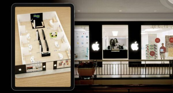 premier Apple Store, réalité augmentée