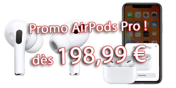promo AirPods Pro, bon plan AirPods, French Days