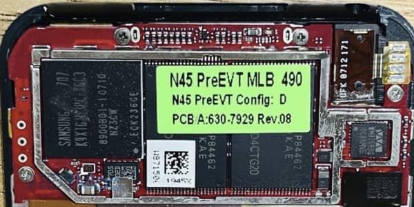prototype rare premier ipod touch os x 3