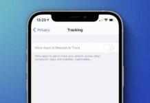 transparence suivi ios 14 5 apple