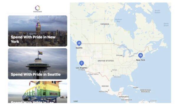 Apple Maps, Intentionalist, Spend With Pride, activités LGBT