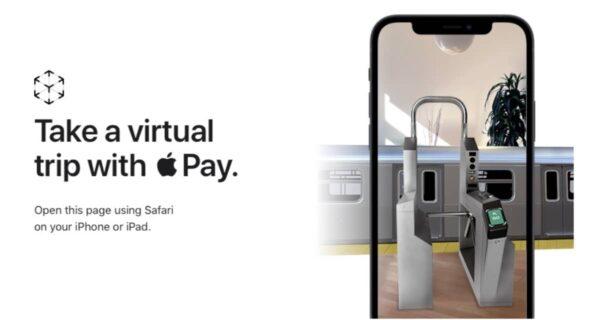 Apple Pay Express Transit AR