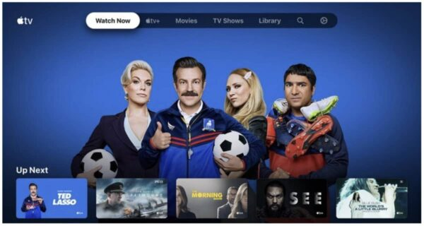 app Apple TV, Android TV OS