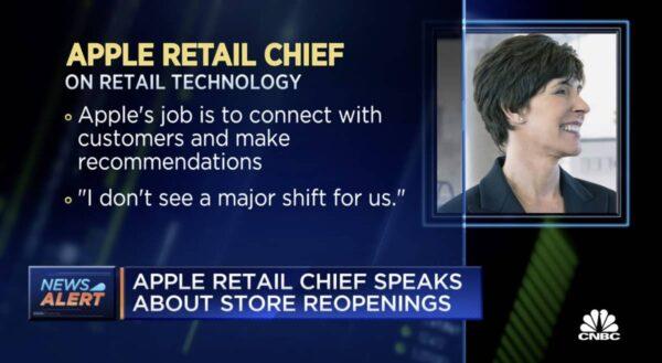Deirdre O'Brien, Apple Store