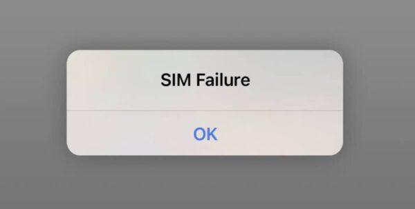 ios 14 7 sim failure