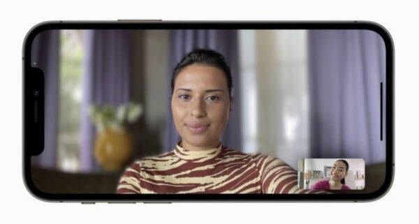 iOS 15, apps tierces, mode portrait, effets Audio
