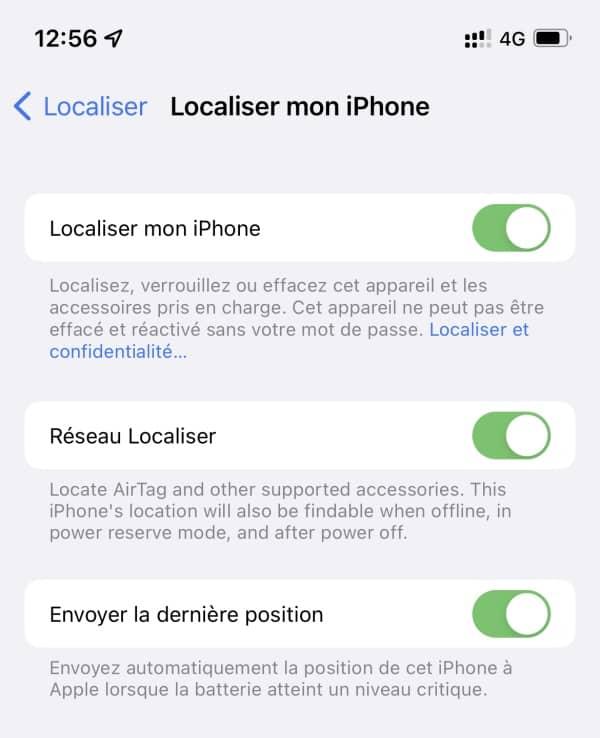 ios 15 localiser iphone 2