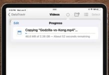 ipados 15 app fichiers