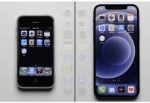 iphone 2g vs iphone 12