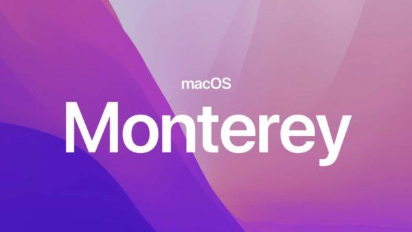 macOS Monterey, Mac M1, applications iPhone