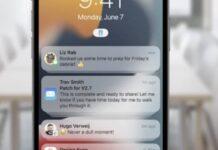 notifications ios 15 3