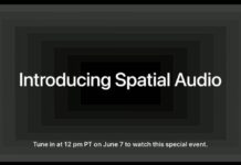 spatial audio video apple