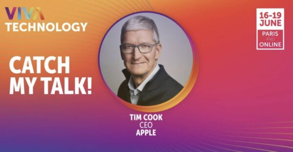 tim cook conference vivatech europe