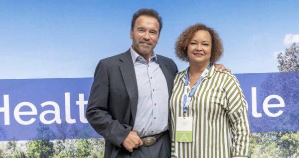 Lisa Jackson, Arnold Schwarzenegger, Sommet mondial autrichien