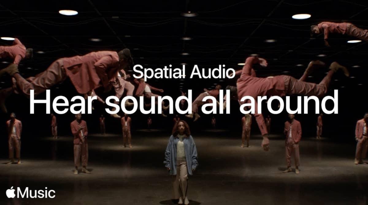 audio spatial album apple