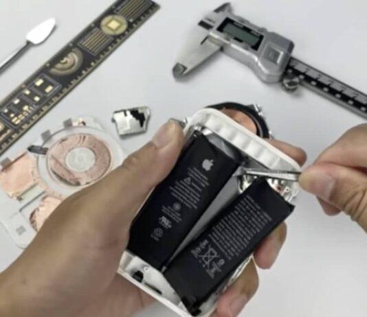 demontage batterie magsafe