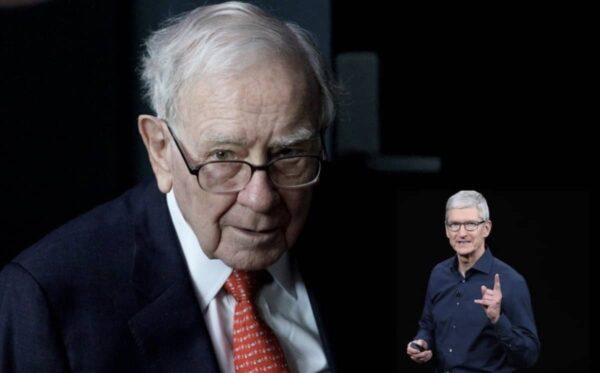 Warren Buffett, actions Apple
