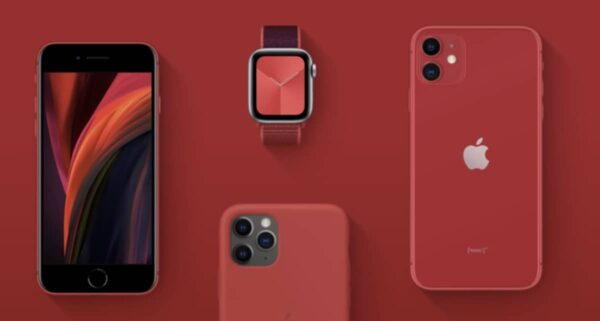 Apple, COVID-19, (PRODUCT)RED