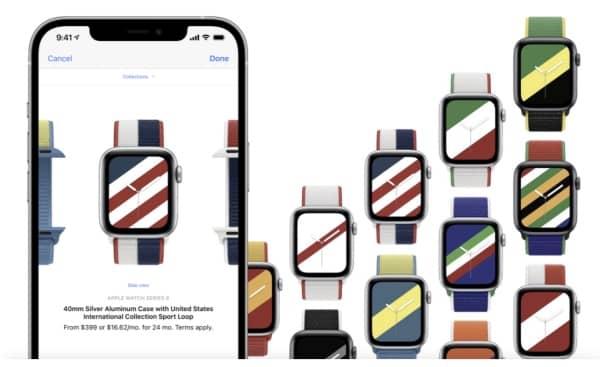 apple store bracelets montre internationaux