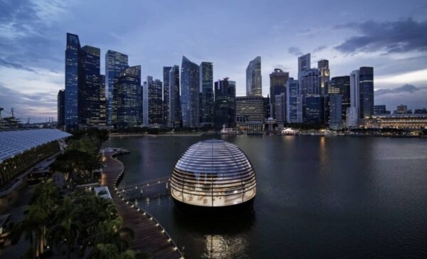 Tim Cook, Singapour, 40 ans Apple
