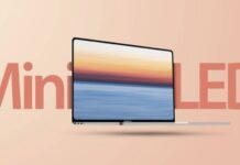 ecran mini led macbook pro j21