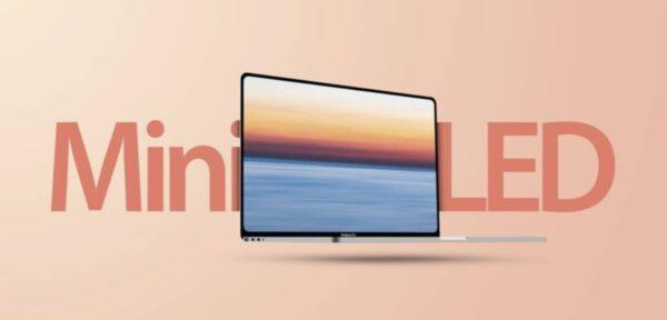 MacBook Pro, écran mini-LED