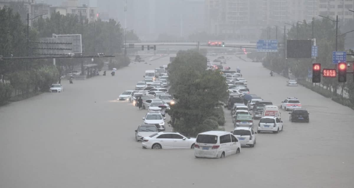 inondations chine foxconn