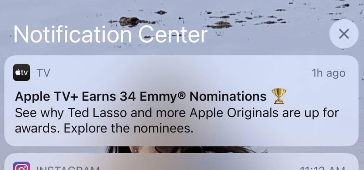 notifications publicite apple j21