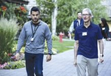 tim cook sun valley conference 2021
