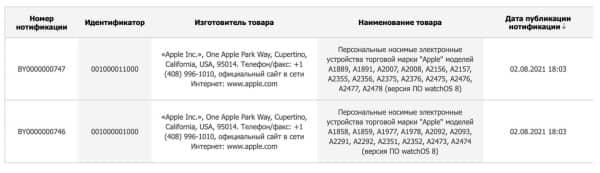 apple watch series 7 rumor
