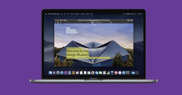 Safari Technology Preview, macOS Big Sur, Monterey