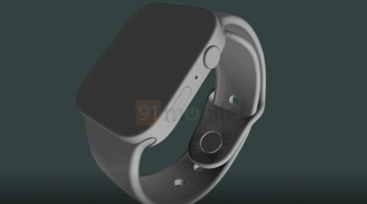 Apple Watch Series 7 : voici le possible rendu final de la future Smartwatch d'Apple