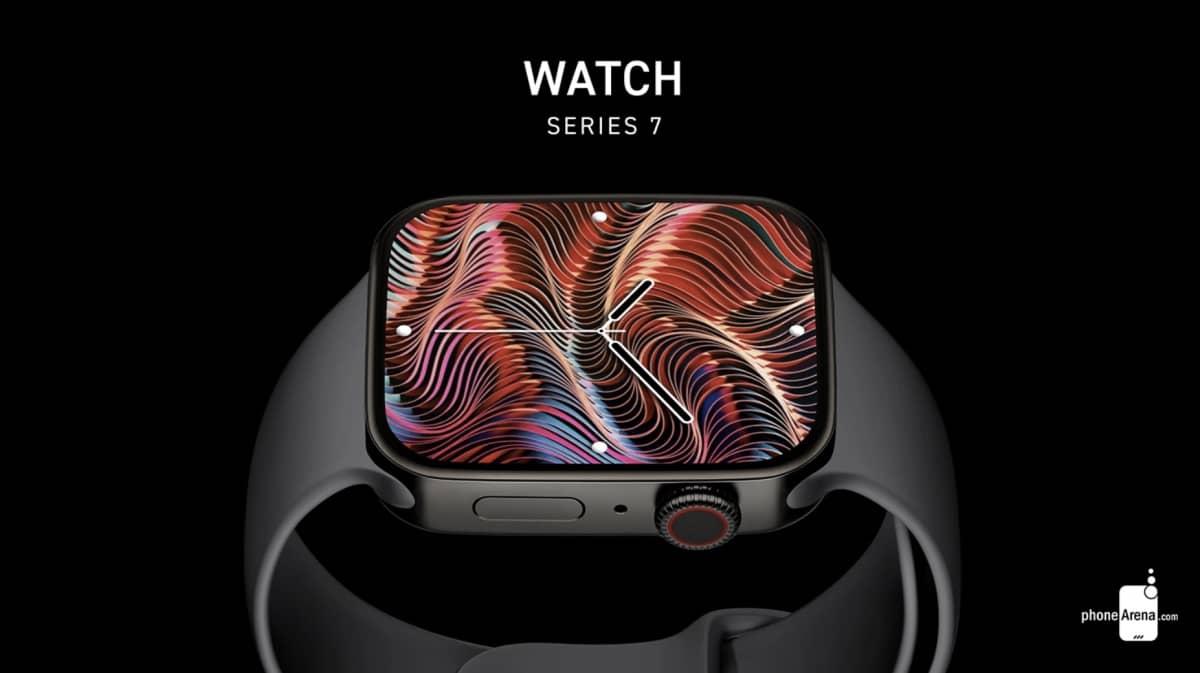 apple watch series 7 rendu 3d 3