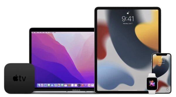 bêta testeurs, iOS 15, iPadOS 15, macOS 12 Monterey, watchOS 8, tvOS 15