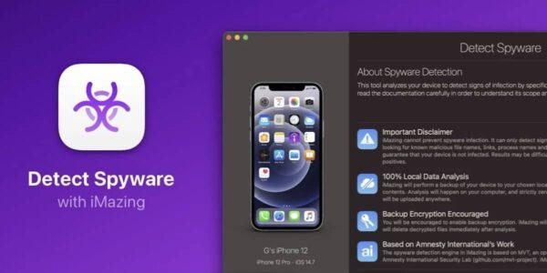 iMazing, logiciel espion iPhone, Pegasus