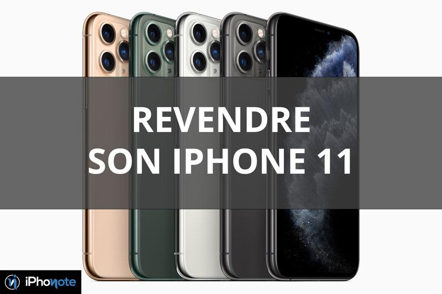 Revendre l'iPhone 11 sur iPhonote