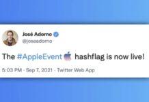hashtag appleevent
