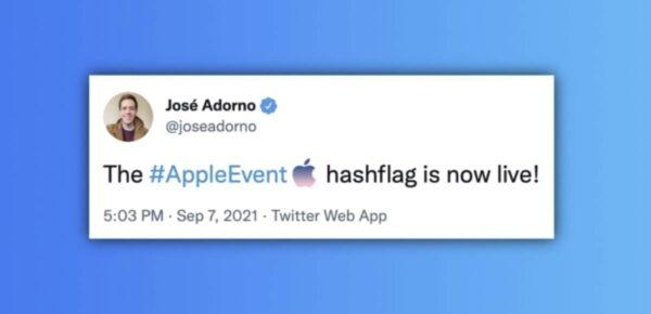 hashtag appleevent, #AppleEvent