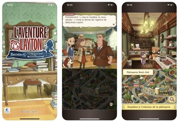 layton s mystery journey apple arcade