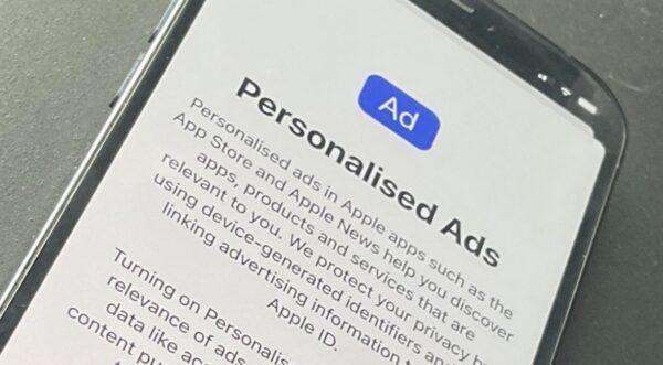 publicités personnalisées, iOS 15